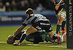 Connacht's Aly Muldowney scores his sides second try<br /> Guiness Pro12<br /> Cardiff Blue v Connacht<br /> BT Sport Cardiff Arms Park<br /> 06.03.15<br /> &copy;Ian Cook -SPORTINGWALES