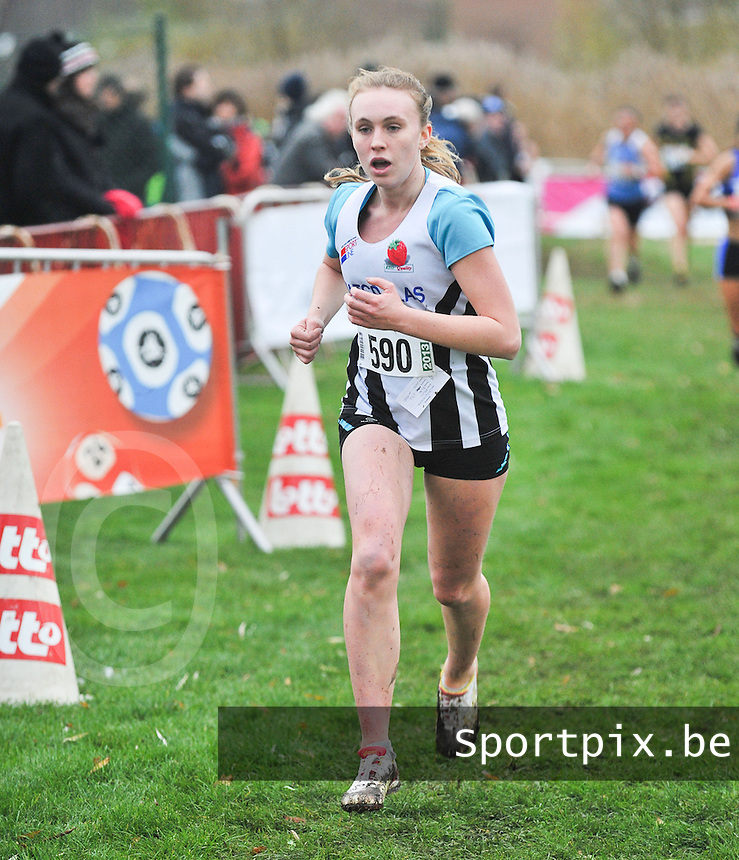 Crosscup Roeselare Junioren Dames : Emilie Bruynooghe.foto VDB / Bart Vandenbroucke