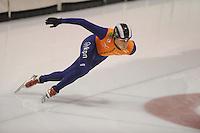 SCHAATSEN: HEERENVEEN; 18-10-2014, IJstadion Thialf, Shorttrack Invitation Cup Thialf, Freek van der Wart, ©foto Martin de Jong