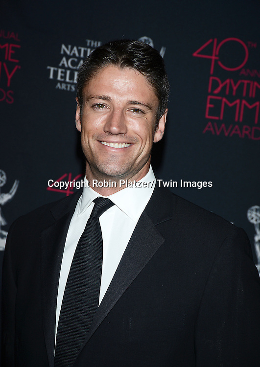 James Scott attends the 40th Annual Daytime Creative Arts Emmy Awards on June 14, 2013 at the Westin Bonaventure Hotel in Los Angeles, California.