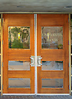 June 13, 2011; Ricci Band Rehearsal hall door..Photo by Matt Cashore/University of Notre Dame