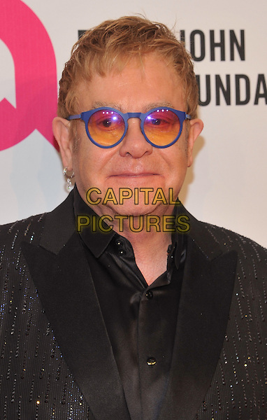 New York,NY-November 2: Elton John attend Elton John AIDS Foundation's 14th Annual An Enduring Vision Benefit at Cipriani Wall Street on November 2, 2015 in New York City.. <br /> CAP/MPI/STV<br /> &copy;STV/MPI/Capital Pictures