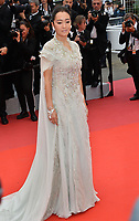 """CANNES, FRANCE. May 14, 2019: Gong Li at the gala premiere for """"The Dead Don't Die"""" at the Festival de Cannes.<br /> Picture: Paul Smith / Featureflash"""