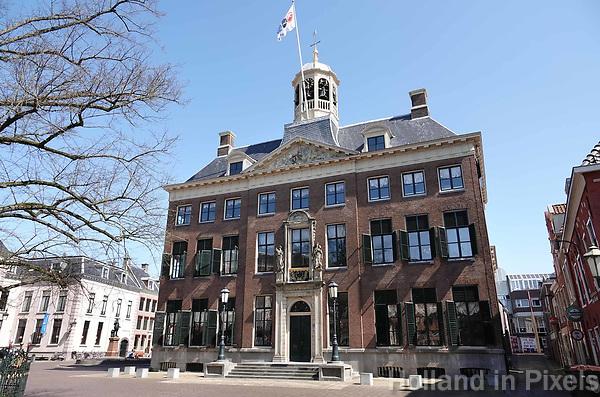 Nederland - Leeuwarden - april 2018. Het Stadhuis van Leeuwarden.  Foto Berlinda van Dam / Hollandse Hoogte