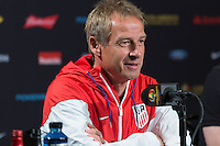 Philadelphia, PA - June 10, 2016: The USMNT train in preparation for their Copa America Centenario match versus Paraguay at Lincoln Financial Field.