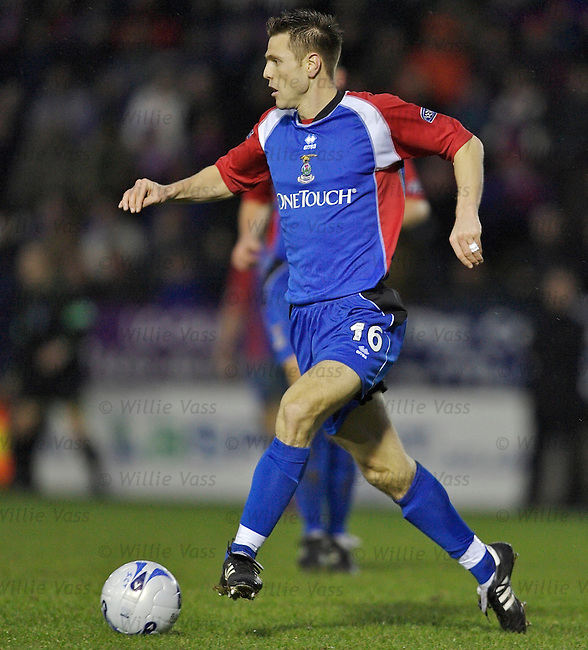 Richard Hastings, Inverness Caledonian Thistle.stock season 2005-2006.pic willie vass