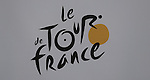 101 Tour de France 2014 - <br /> Logo at the finish of stage thirteen of the cycling road race 'Tour de France' at Chamrousse, on July 18, 2014.
