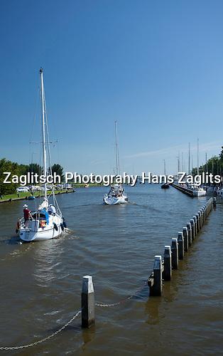Stavoren, Schleuse Ijsselmeer-Johan-Friso-Kanal