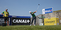 Andy Sullivan (ENG) plays to the third during thePro-Am of the 2015 Alstom Open de France, played at Le Golf National, Saint-Quentin-En-Yvelines, Paris, France. /01/07/2015/. Picture: Golffile | David Lloyd<br /> <br /> All photos usage must carry mandatory copyright credit (&copy; Golffile | David Lloyd)