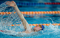 Lewis Claireburt (200IM) in action during the Swimming New Zealand Short Course Championships,Owen G Glenn National Aquatic Centre, Auckland, New Zealand, Wednesday 4 October 2017. Photo: Simon Watts/www.bwmedia.co.nz