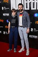 Jon Arias and Alba Ribas attends to La Caza. Monteperdido premiere at Capitol cinema in Madrid, Spain. March 12, 2019. (ALTERPHOTOS/A. Perez Meca)