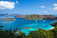 View of Cinnamon Bay <br /> Virgin Islands National Park<br /> St. John<br /> U.S. Virgin Islands