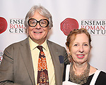 "Donald T. Sanders and Eve Wolf attends the Opening Night Party for ""Because I Could Not Stop: An Encounter with Emily Dickinson"" at the West Bank Cafe on September 27, 2018 in New York City."