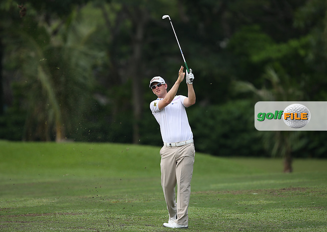 Bernd Wiesberger (AUT) carded a 71 during Round One of the The Championship 2014 from the Laguna National Golf & Country Club, Tampines, Singapore. Picture:  David Lloyd / www.golffile.ie