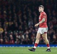 Wales' Steffan Evans<br /> <br /> Photographer Simon King/CameraSport<br /> <br /> International Rugby Union - 2017 Under Armour Series Autumn Internationals - Wales v Australia - Saturday 11th November 2017 - Principality Stadium - Cardiff<br /> <br /> World Copyright &copy; 2017 CameraSport. All rights reserved. 43 Linden Ave. Countesthorpe. Leicester. England. LE8 5PG - Tel: +44 (0) 116 277 4147 - admin@camerasport.com - www.camerasport.com