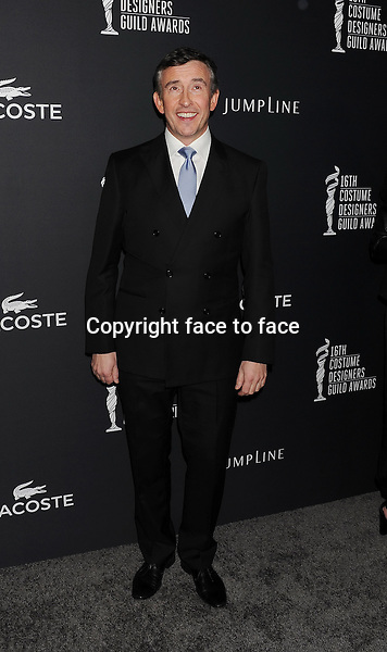 BEVERLY HILLS, CA- FEBRUARY 22: Actor Steve Coogan arrives at the 16th Costume Designers Guild Awards at The Beverly Hilton Hotel on February 22, 2014 in Beverly Hills, California.<br /> Credit: Mayer/face to face<br /> - No Rights for USA, Canada and France -