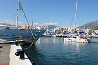 Yachts, marina, harbour, Puerto Banus, Marbella, Spain, April, 2016, 201604142411<br />