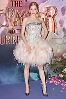 Ellie Bamber<br /> 'The Nutcracker and the Four Realms' European Film Premiere at Westfield, London, England  on November 01,  2018.<br /> CAP/PL<br /> &copy;Phil Loftus/Capital Pictures