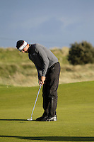 Christian Bezuidenhout (South Africa) on the 11th during Round 3 of The Irish Amateur Open Championship in The Royal Dublin Golf Club on Saturday 10th May 2014.<br /> Picture:  Thos Caffrey / www.golffile.ie