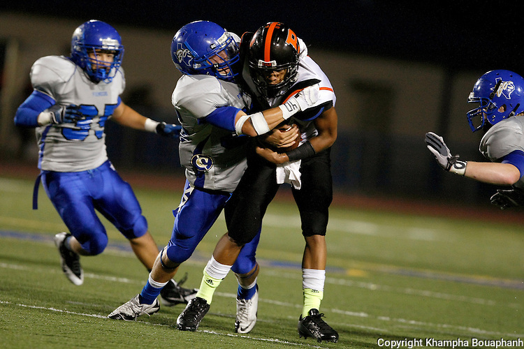 Boswell plays Polytechnic in high school football at Pioneer Stadium in Fort Worth on Friday, September 20, 2013. Boswell won 57-13. (Star-Telegram/Khampha Bouaphanh)