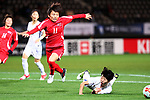 Sung Hyang Sim (PRK), <br /> DECEMBER 11, 2017 - Football / Soccer : <br /> EAFF E-1 Football Championship 2017 Women's Final match <br /> between North Korea 1-0 South Korea <br /> at Fukuda Denshi Arena in Chiba, Japan. <br /> (Photo by Naoki Nishimura/AFLO)