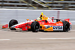 E.J. Viso (5) driver for Team Venezuela/Andretti Autosport/HVM in action during qualifying for the IZOD Indycar Firestone 550 race at Texas Motor Speedway in Fort Worth,Texas.