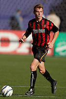 The MetroStars' Chris Leitch. The LA Galaxy were defeated by the NY/NJ MetroStars 2 to 1 at Giant's Stadium, East Rutherford, NJ, on June 19, 2004.
