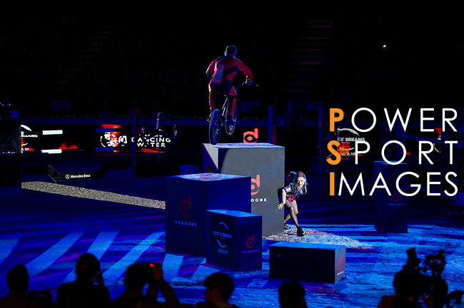 The House of Dancing Water by Franco Dragone Show during  the Longines Masters of Hong Kong on 21 February 2016 at the Asia World Expo in Hong Kong, China. Photo by Juan Manuel Serrano / Power Sport Images