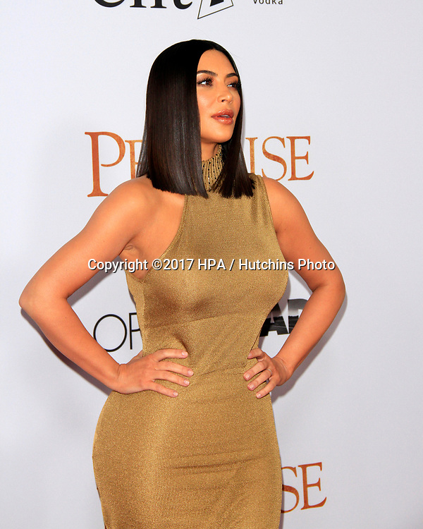 "LOS ANGELES - APR 12:  Kim Kardashian at the ""The Promise"" Premiere at the TCL Chinese Theater IMAX on April 12, 2017 in Los Angeles, CA"