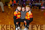 Philip Murphy, Kenzie Kiely and Sean Hyland attending the Irish Hip Hop Masters Dance Championships 2020 in the Brandon Hotel on Friday