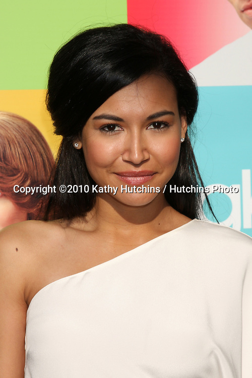 """LOS ANGELES - JUL 27:  Naya Rivera arrives at Fox's """"Glee"""" Academy: An Evening of Music With the Cast of Glee at The Music Box & Henry Fonda Theater on July27, 2010 in Los Angeles, CA ..."""