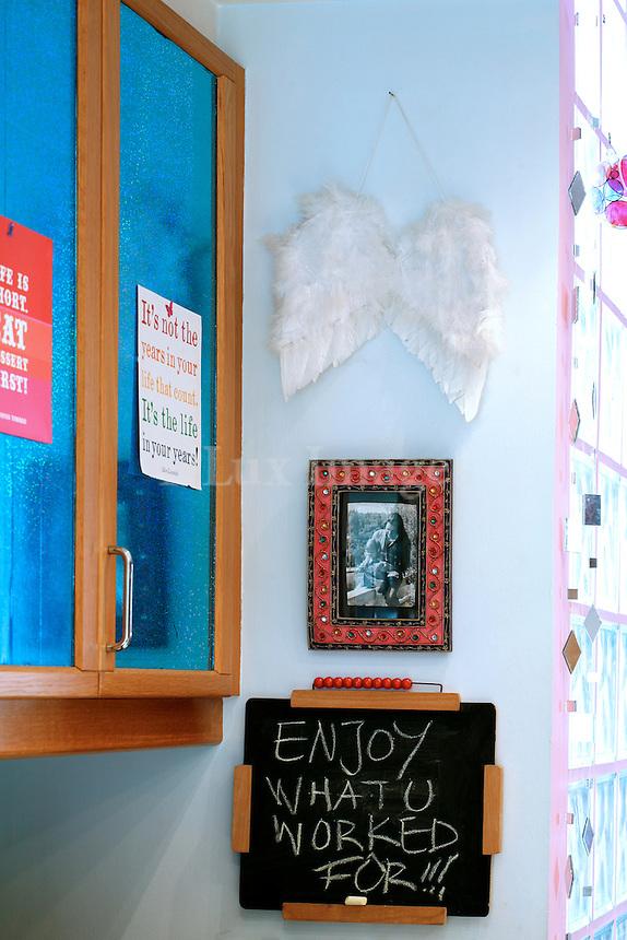 light blue kitchen cupboards