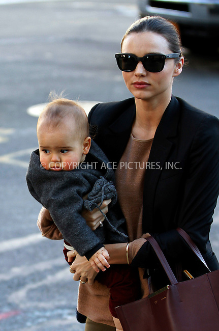 WWW.ACEPIXS.COM . . . . .  ....November 5 2011, New York City....Model Miranda Kerr taook her baby Flynn Bloom to Cafe Moomah in Tribeca on November 5 2011 in New york City....Please byline: JOHN PETERS - ACE PICTURES.... *** ***..Ace Pictures, Inc:  ..Philip Vaughan (212) 243-8787 or (646) 679 0430..e-mail: info@acepixs.com..web: http://www.acepixs.com