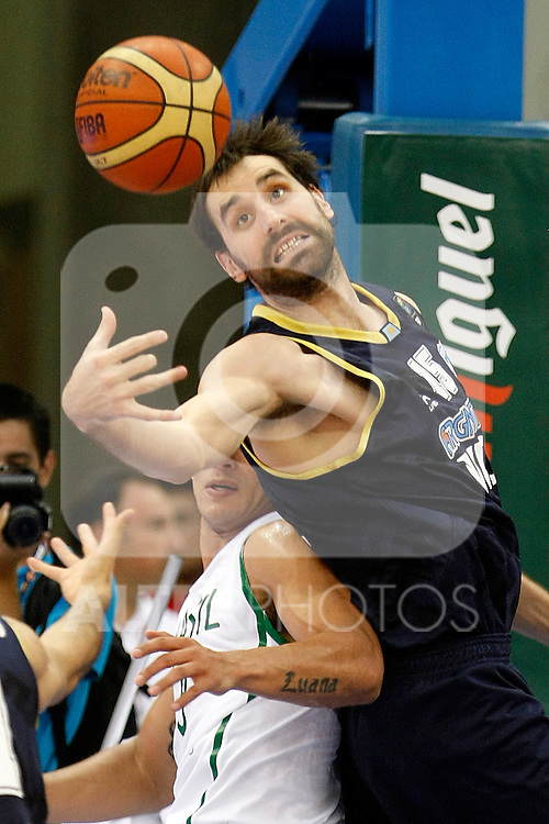 Argentina's Federico Kammerichs during Friendly match.August, 15, 2010. (ALTERPHOTOS/Acero)
