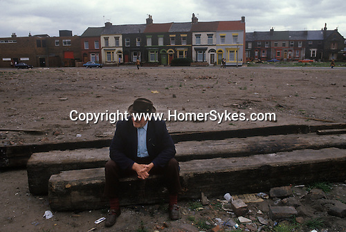Toxteth Liverpool Lancashire after the Riots 1981.<br />