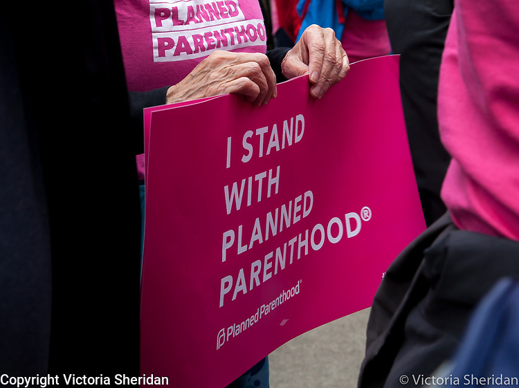 """About 200 people gathered on the North Steps of the State Capitol, in Sacramento, California on May 21, 2019 for the National Day of Action """"Stop The Bans"""" rally organized by Planned Parenthood and affiliates NARAL and ACLU.  Photos/Victoria Sheridan 2019"""