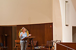 "Anne Lamott discusses her new book ""Hallelujah Anyway"" at Montclair Presbyterian Church in Oakland, California. Local bookstore A Great Good Place for Books hosted the event Tuesday May 2, 2017."