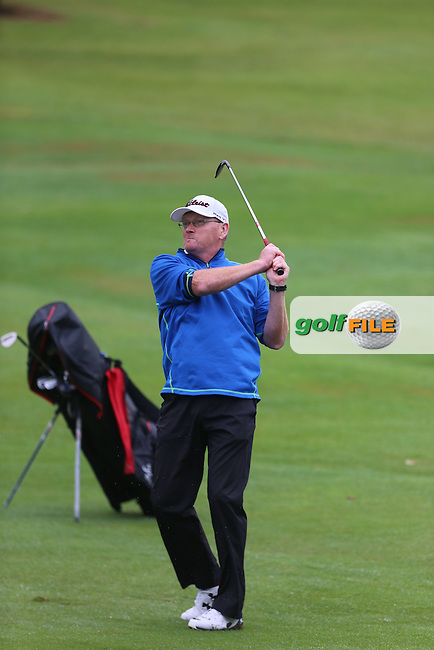 Paul Gibson (Mahee Island) during the Ulster Mixed Foursomes Final, Shandon Park Golf Club, Belfast. 19/08/2016<br /> <br /> Picture Jenny Matthews / Golffile.ie<br /> <br /> All photo usage must carry mandatory copyright credit (&copy; Golffile | Jenny Matthews)