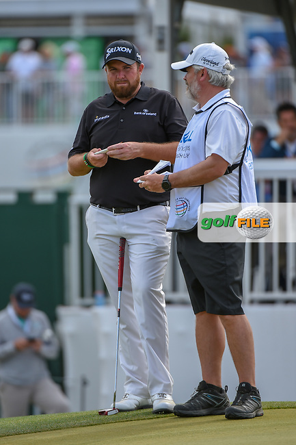 Shane Lowry (IRL) waits to putt on 15 during day 2 of the WGC Dell Match Play, at the Austin Country Club, Austin, Texas, USA. 3/28/2019.<br /> Picture: Golffile | Ken Murray<br /> <br /> <br /> All photo usage must carry mandatory copyright credit (© Golffile | Ken Murray)