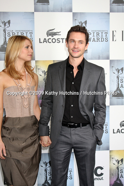 Claire Danes & Hugh Dancy  arriving  at the  Film Indpendent's  24th Annual Spirit Awards on the beach in Santa Monica, CA  on.February 21, 2009.©2009 Kathy Hutchins / Hutchins Photo...                .