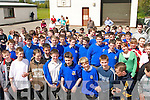WALK ON: Students from Castleisland Community College who took part in a Charity Walk on Friday last for former student Christina fleming who  is travelling to India on July 6th for seven week as a volunteer with SERVE.   Copyright Kerry's Eye 2008
