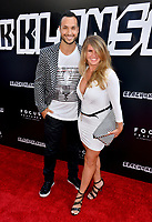 Jaylen Moore &amp; Britt Logan at the Los Angeles premiere of &quot;BlacKkKlansman&quot; at the Academy's Samuel Goldwyn Theatre, Beverly Hills, USA 08 Aug. 2018<br /> Picture: Paul Smith/Featureflash/SilverHub 0208 004 5359 sales@silverhubmedia.com
