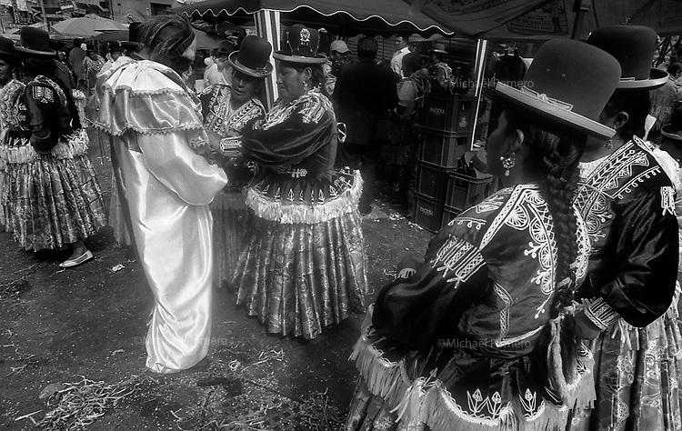 02.2010 La Paz (Bolivia)<br /> <br /> Carnaval de La Paz.<br /> <br /> Carnival of La Paz.