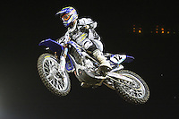 01/22/11 Los Angeles, CA:  Thomas Hahn during the 1st ever AMA Supercross held at Dodger Stadium.