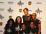 Robin Roberts with Harlem Skaters - Figure Skating in Harlem presents Champions in Life Benefit Gala on April 29, 2019 at Chelsea Pier, New York City, New York - (Photo by Sue Coflin/Max Photos)
