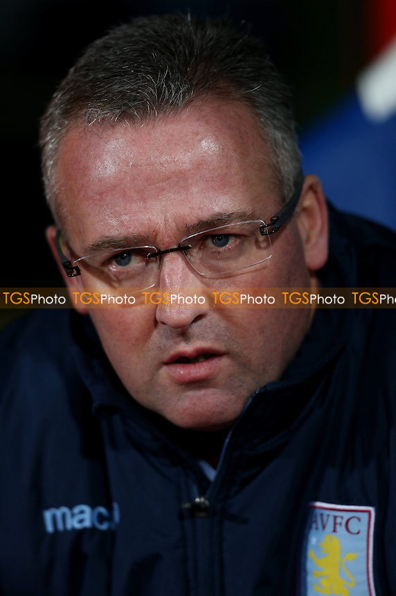 Aston Villa manager Paul Lambert - Crystal Palace vs Aston Villa - Barclays Premier League Football at Selhurst Park, London - 02/12/14 - MANDATORY CREDIT: Simon Roe/TGSPHOTO - Self billing applies where appropriate - contact@tgsphoto.co.uk - NO UNPAID USE