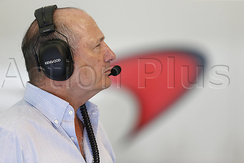 01.04.2016. Bahrain. FIA Formula One World Championship 2016, Grand Prix of Bahrain, Practise day.  Ron Dennis (GBR, McLaren Honda Formula 1 Team)