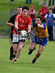 Hunterstown Rovers David Finn St. Mochtas Declan Byrne. Photo:Colin Bell/pressphotos.ie