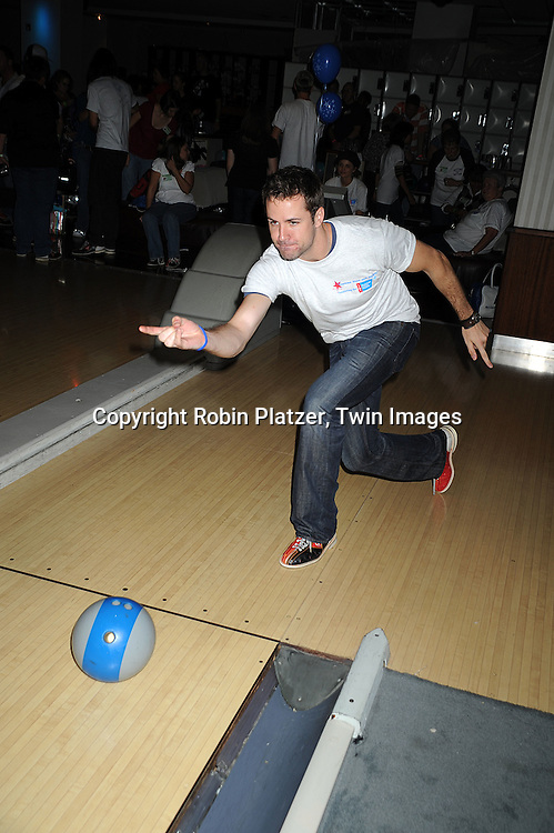 """John Driscoll..at The Fifth Annual """"Daytime Stars and Strikes"""" for The American Cancer Society on September 28, 2008 at The Port Authority Bowling Alley. Jerry verDorn and Liz Keifer were the hosts. ....Robin Platzer, Twin Images"""