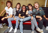 1986: URIAH HEEP - Photosession in London